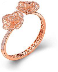 Fei Liu - Cascade Bangle In 18kt Rose Gold - Lyst