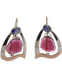 Lainey Papageorge Designs - Temple Earrings - Lyst