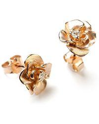 Ehinger Schwarz 1876 - Rosegold Earrings - Lyst