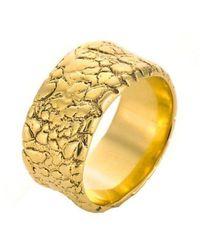 Susan Wheeler Design - Hot Lava Big Band Ring - Lyst