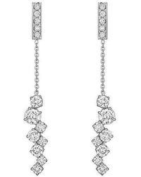 Madstone Design - Diamond Melting Ice Bar Earrings - Lyst