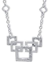 Designs by JAK - Verity Square Link Necklace - Lyst