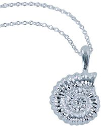 Reeves and Reeves - Ammonite Necklace - Lyst