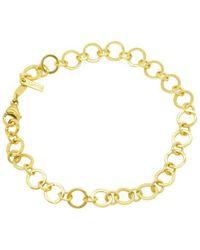 Purnell - Gold Circle Bracelet - Lyst