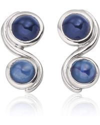 Justin Richardson - Blue Infinity Earrings - Lyst