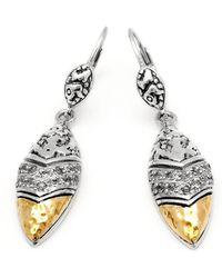 Deni Jewelry - Plaster Earrings - Lyst