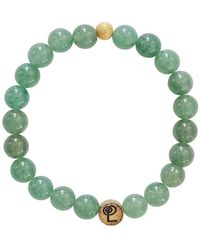 Lucy and Penny - Healing Aventurine Bangle - Lyst