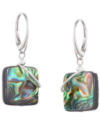 Naomi Jewelry - Blaze Twist Earrings - Lyst