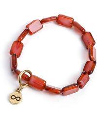Eva Michele - Magenta Infinity Bracelet - Lyst
