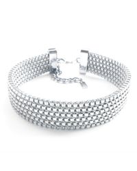 Clare Hynes - Charlie Choker Silver Plated - Lyst