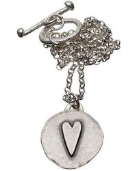 Kate Chell Jewellery - Hammered Pendant - Lyst