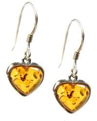 HarmonyKreations   Heart By Nature Earrings   Lyst