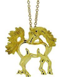 Alexander Jewell - Arabian Horse Pendant - Lyst