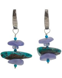 Lainey Papageorge Designs - Nice Meets Native Earrings - Lyst