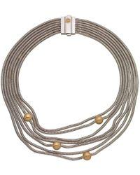 Franco Piane Designed By Franco Pianegonda - Waves Necklace - Lyst