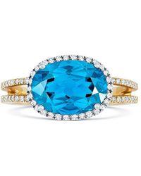 Tivon Fine Jewellery - Tivon Blue Gelati Ring - Lyst