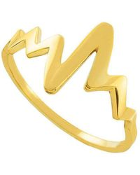 QP Jewellers - Heartbeat Ring In 9kt Gold - Lyst