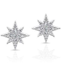 Anne Sisteron - North Star Stud Earrings - Lyst
