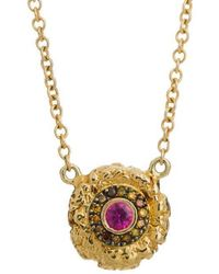 Susan Wheeler Design - The Ruby And Diamond Necklace - Lyst