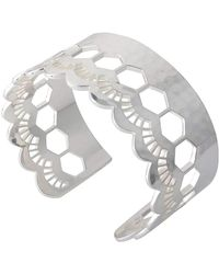 Murkani Jewellery   Lace Silver Edge Cuff   Lyst
