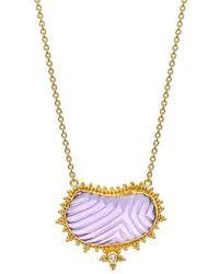 Nicofilimon - Purpose Sea Necklace - Lyst