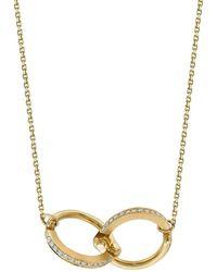 Borgioni - Handcuff Chain Necklace In Yellow Gold - Lyst