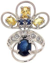 Botta Gioielli - Peacock Ring - Lyst