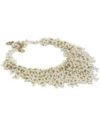 Elisa Ilana Jewelry - Pearl & Quartz Necklace - Lyst