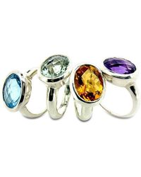 Will Bishop Coloured Cocktail Rings - UK G - US 3 3/8 - EU 45 1/4 ITvf5yg26H