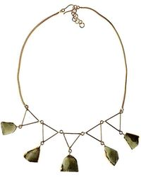 Isla - Aquamarinas Brutas Necklace - Lyst