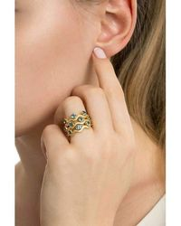 Biiju - Siren Egg Box Ring Trio - Lyst