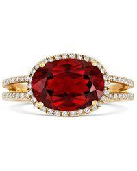Tivon Fine Jewellery - Tivon Red Gelati Ring - Lyst