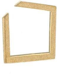 Ilda Design - Square Gold Plated Ring - Lyst