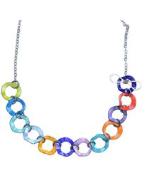 Just Kenzie Jewelry - Ring Master Necklace - Lyst