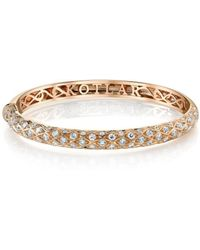Harry Kotlar Criss Cross Artisan Pave Eternity Bangle zHgK2HqB