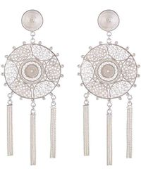 Vanilo - Pandora Earrings Silver - Lyst