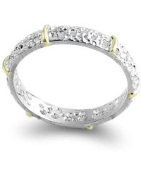 Agneta Bugyte - Sterling Silver & 14kt Gold Classical Ring - Lyst