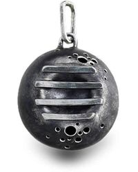 Agneta Bugyte - Patinated Sterling Silver Pendant - Lyst