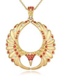 Tivon Fine Jewellery - Tivon The Phoenix Soars Pendant - Lyst