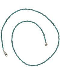 Lainey Papageorge Designs - Sapphire Necklace - Lyst