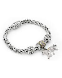 Deni Jewelry - Horse Charm Bracelet - Lyst