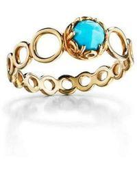 Daria de Koning - Czarina Turquoise Delicate Ring - Lyst