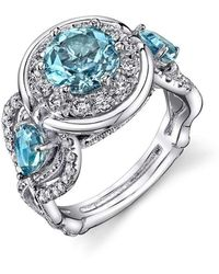 "Dallas Prince Designs - ""amore"" Santa Maria Aquamarine Ring - Lyst"