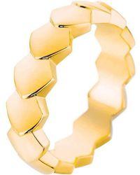 Akillis - Python Rose Gold Diamond Ring - Lyst