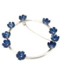 Sian Bostwick Jewellery - Forget-me-nots Circlet Brooch - Lyst