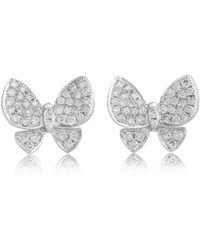 Jooal - Duo Flutter Earrings - Lyst