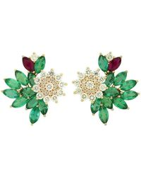 Joana Salazar - Blossom Sparkling Earrings - Lyst
