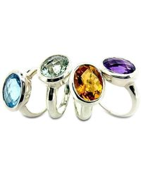 Will Bishop - Coloured Cocktail Rings - Lyst