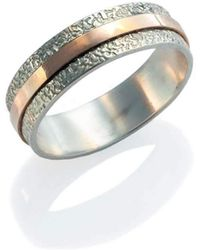 Lainey Papageorge Designs - Heartline Ring - Lyst