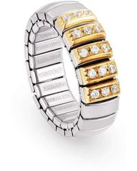 Nomination - Xte Ring With Gold And Cubic Zirconia - Lyst